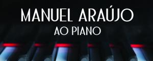 Manuel Araújo ao piano no Centro Cultural