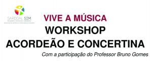 Workshop de Acordeão e Concertina em Alcaravela
