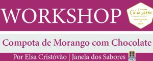 Workshop de Compota de Morango com Chocolate