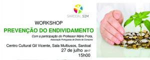 """Workshop sobre """"Prevenção do Endividamento"""""""