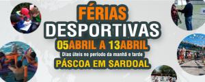 Férias Desportivas da Páscoa de 05 a 13 de Abril