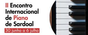 II Encontro Internacional de Piano de Sardoal