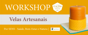 Workshop de Velas Artesanais no Cá da Terra