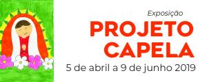 Projeto Capela 2019 em exposição no espaço Cá da Terra