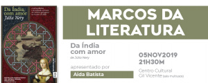 """Marcos da Literatura sobre """"Da Índia com Amor"""""""