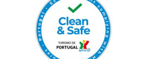 Espaço Cá da Terra Com selo Clean & Safe