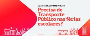 Transporte Público nas Férias Escolares