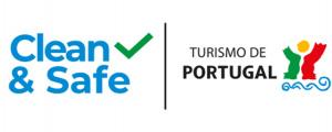 Posto de Turismo com selo Clean & Safe atribuído pelo Turismo de Portugal