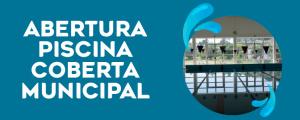 Piscina Coberta Municipal abre a 2 de novembro