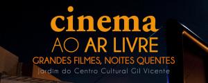 Cinema ao Ar Livre no Jardim do Centro Cultural